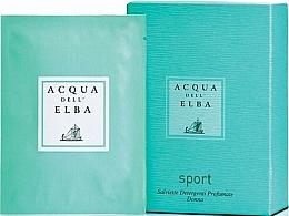 Parfémy, Parfumerie, kosmetika Acqua Dell Elba Sport - Parfémované ubrousky