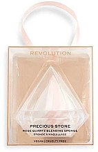 Parfémy, Parfumerie, kosmetika Houbička na make-up - Makeup Revolution Precious Stone Diamond Blender&Case
