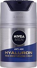Parfémy, Parfumerie, kosmetika Anti-age hydratační pleťový krém s kyselinou hyaluronovou - Nivea Men Anti-Age Hyaluron Face Moisturizing Cream SPF 15