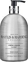 Parfémy, Parfumerie, kosmetika Tekuté mýdlo na ruce - Baylis & Harding Elements Lemon and Mint Hand Wash
