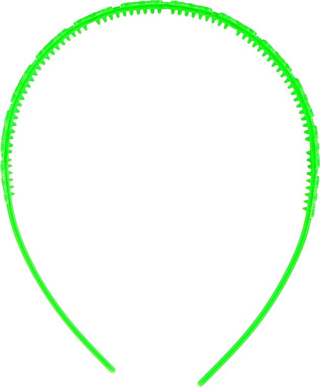 Čelenka na vlasy 27918, světle zelená - Top Chice — foto N2