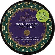 Parfémy, Parfumerie, kosmetika Peeling na nohy s olejem rýžových otrúb a aloe vera - Sabai Thai Rice Milk Aroma Soothing Foot Scrub