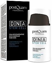 Parfémy, Parfumerie, kosmetika Oční krém pro muže - PostQuam Global Dna Men Intensive Eye Contour