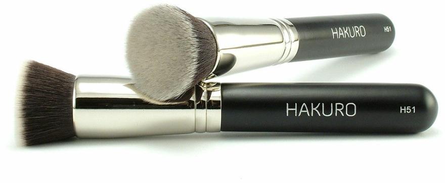 "Štětec na make-up ""H51"" - Hakuro — foto N1"