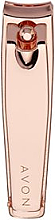 Parfémy, Parfumerie, kosmetika Kleště na nehty, růžové zlato - Avon Rose Gold Nail Clippers